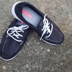 Skechers womens boat shoes sz 7